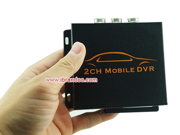 Popular 2ch mobile DVR TAXI DVR KIT