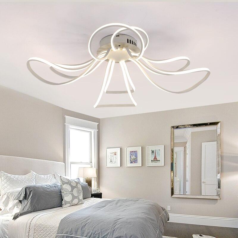 10 modern schlafzimmer bank designs, led deckenleuchte plafond lampe wohnzimmer lichter moderne design, Design ideen
