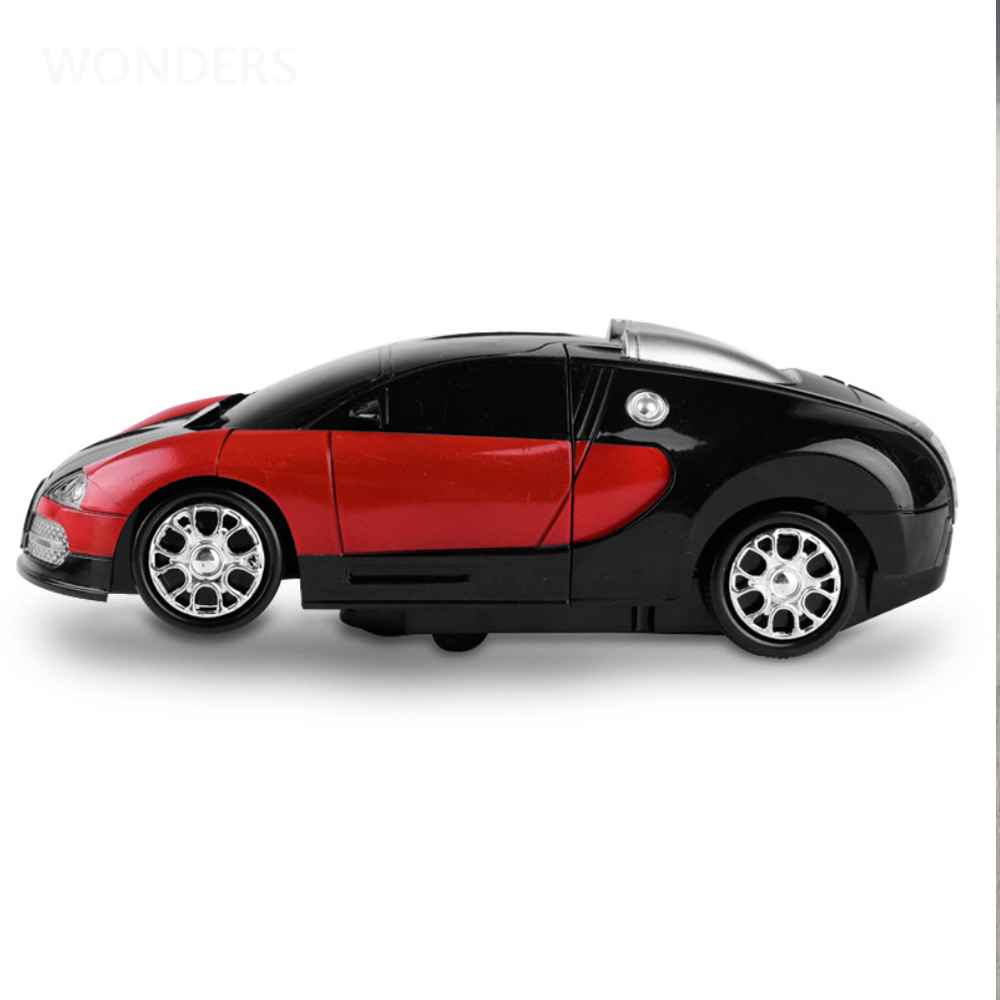 Electronic Transformer Robot Toy Car 3