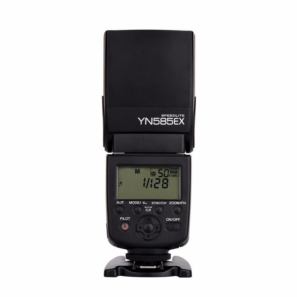 2017 Yongnuo Wireless Flash Speedlite YN585EX P-TTL for Pentax K3II K5 K50 KS2 K100 Camera