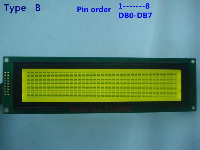 1 قطع 40x4 4004 40*4 404A الأحرف lcd وحدة أزرق أبيض led الخلفية splc780 KS0066 أو متوافق