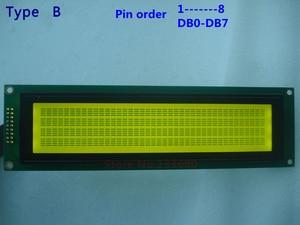 Image 3 - 1 יחידות 40x4 4004 40*4 LCD התווים מודול הכחול 404A לבן תאורת LED אחורית KS0066 SPLC780 או תואם