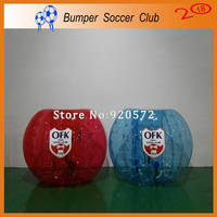 Free shipping ! Free Pump ! 8pcs (4Blue+4Red) Bubble Soccer,Zorb Ball,Bumper Ball,Human Hamster Ball On Sale