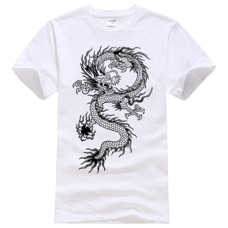 2017 Summer New men women brand   t  -  shirt   Fashion Dragon printing cool   t     shirt   Plus size short sleeves   t     shirt   men #094
