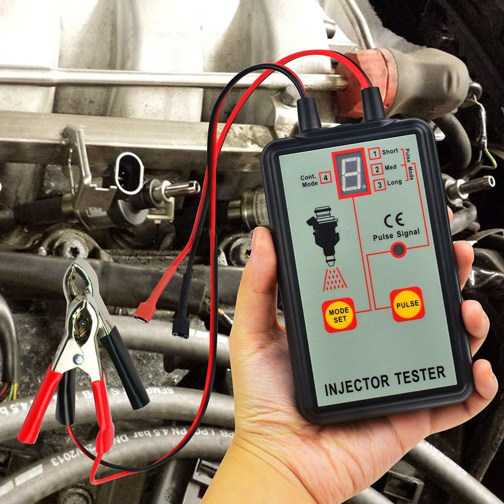 All-sun em276 profissional injector testador injector de combustível 4 modos pluse testador poderosa ferramenta de varredura do sistema de combustível garantia 100%