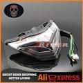 fits for KAWASAKI NINJA 250/300 Z250 2013-2014 Motorcycle Accessories Integrated LED Tail Light Turn signal Blinker Smoke