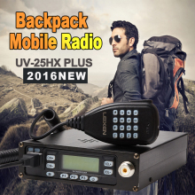 Oringnal Brand LEIXEN UV-25HX Plus Walkie Talkie Mobile Radio Transceiver VHF/UHF Dual Band Car radio PK QYT KT8900 KT-8900R