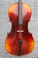 4 4 Cello Spruce Fine Flame Maple Master Powerful Cello Bag Bow 390