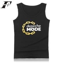LUCKYFRIDAYF depeche mode tank prime males bodybuilding music band tank prime males's summer season hio hop trend design informal vest XXS 4XL
