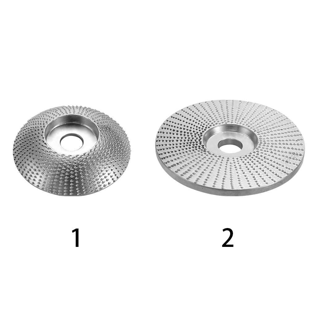 Wood Grinding Wheel Rotary Disc Sanding Wood Carving Tool Abrasive Disc Tools For Angle Grinder 5/8inch Bore