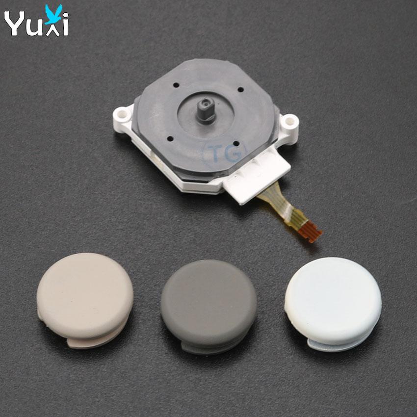YuXi 3D Analog Joystick + Stick Grip Cap Control Cover Button Replacement Part Case For Nintendo For 3DS 3DSXL 3DSLL
