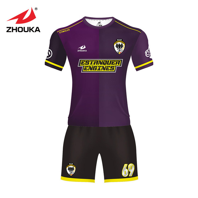 the latest 744de 6388d US $27.0 |Customized professional wholesale soccer jersey Club mens or  womens make your own logo original design football jersey set-in Soccer  Jerseys ...