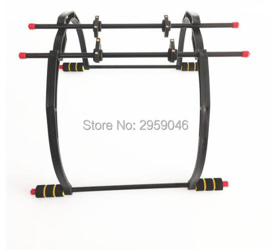 Tall Landing Gear Landing Skid set for F450 F550 Drone Quad frame Kit FPV Aerial Photography Gimbal Damping Tall Foot Stool kit 500mm pcb board with landing gear for fpv quad s500 pcb quadcopter multicopter frame kit gopro gimbal f450 rc spare parts