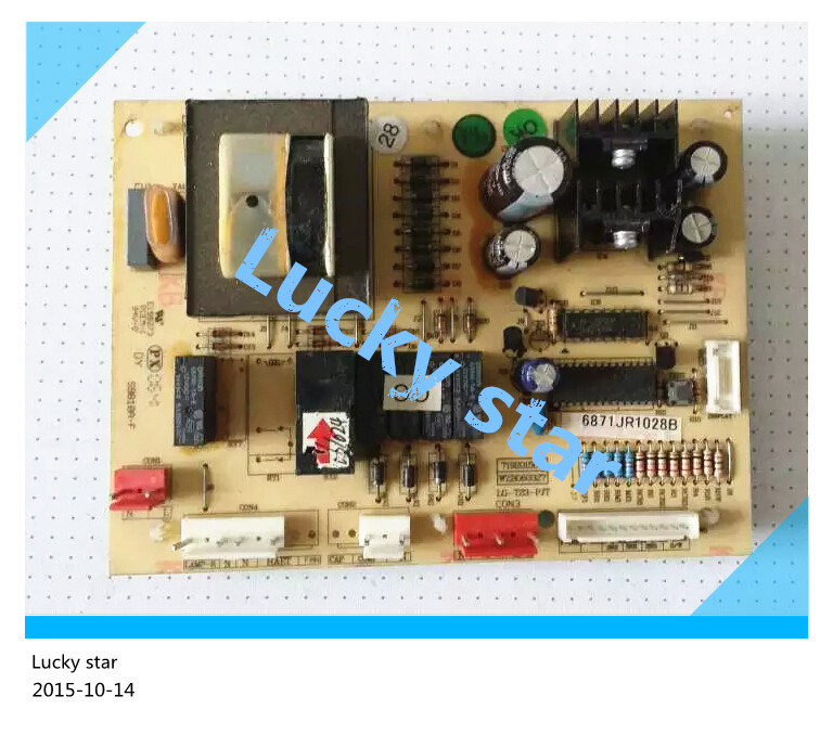 95% new for LG refrigerator computer board circuit board GR-S31NARE/NADE LG-T23-PJT 6871JR1028B 6871JR1028 board good working 95% new for lg refrigerator computer board circuit board gb2 pjt ebr5717720 bcd 236ndq[gr s25ddh] board good working
