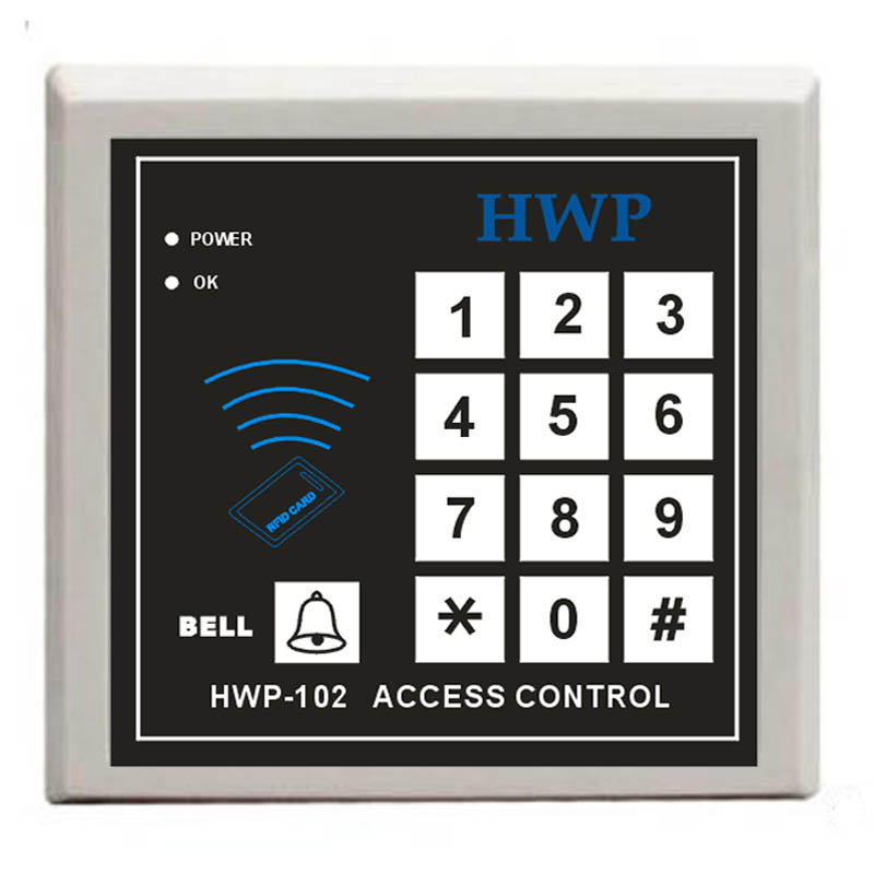 Standalone access control Keypad with master cards RFID Proximity Door Access Control System biometric standalone access control rfid access control for building management system