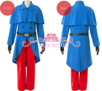 Axis Powers Hetalia APH France Francis Bonnefeuille Military Uniform Cosplay Costumes