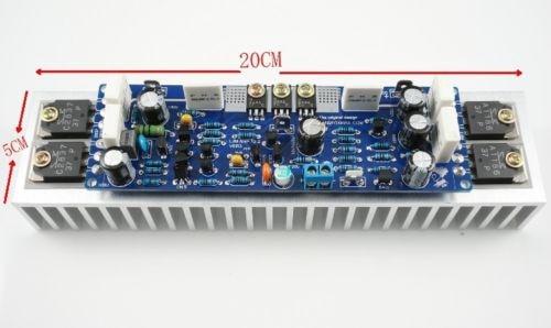 цена на Assembled L12-2 Stereo Power Amplifier Board 120W 2-CH +-50V with heatsink