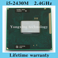 Lifetime warranty Core i5 2430M 2.4GHz SR04W 2430 Notebook processors Laptop CPU PGA 988 Official version  Computer Original