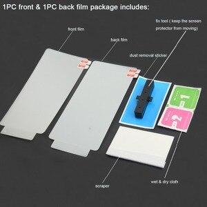 Image 2 - 2PCS מלא כיסוי הידרוג ל קדמי ואחורי סרט עבור iphone X XS Max XR 8 בתוספת 7 6s 6 בתוספת עבור iphone 11 פרו מקסימום מסך מגן סרט