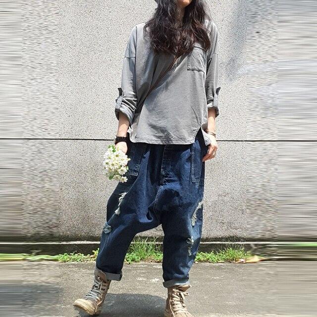 Aliexpress.com : Buy Boyfriend Jeans for Women Cross Pants ...