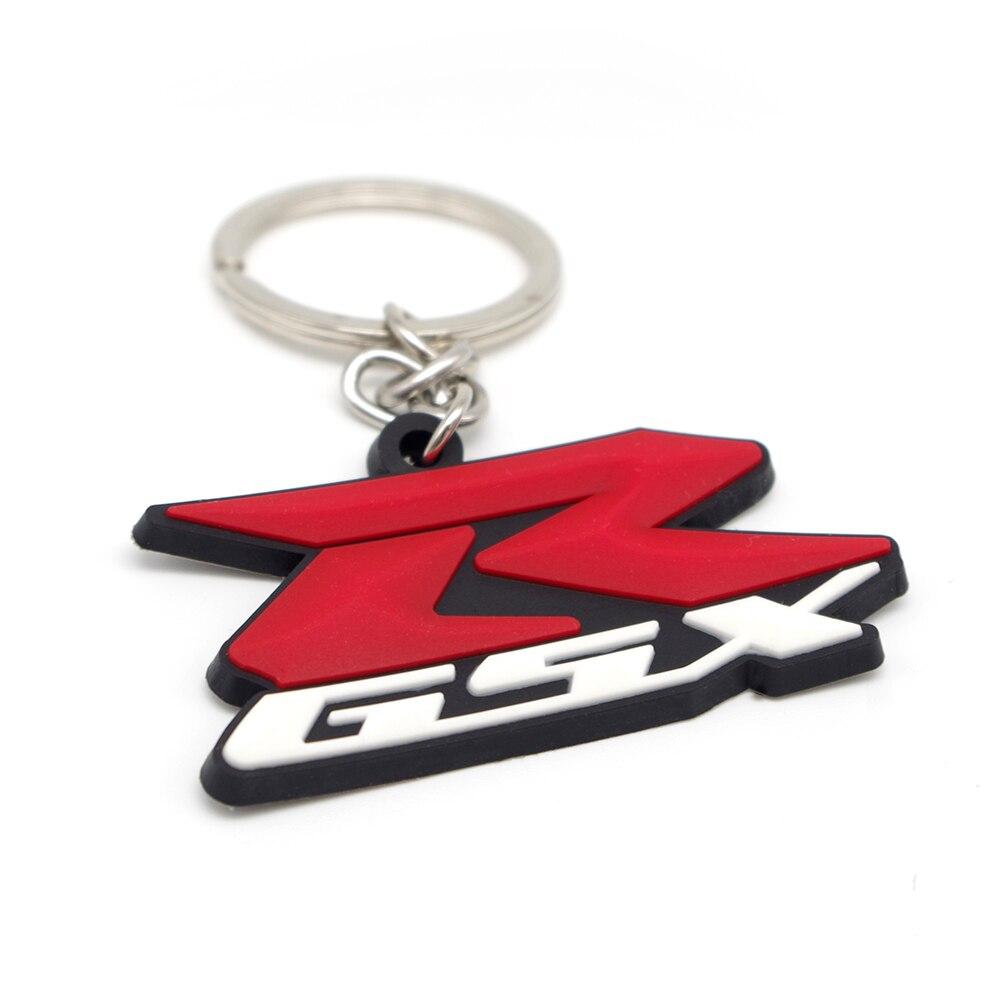 - 99000 GSX-R1000 Ecstar Bike Keyring New Suzuki Genuine Accessory Rubber