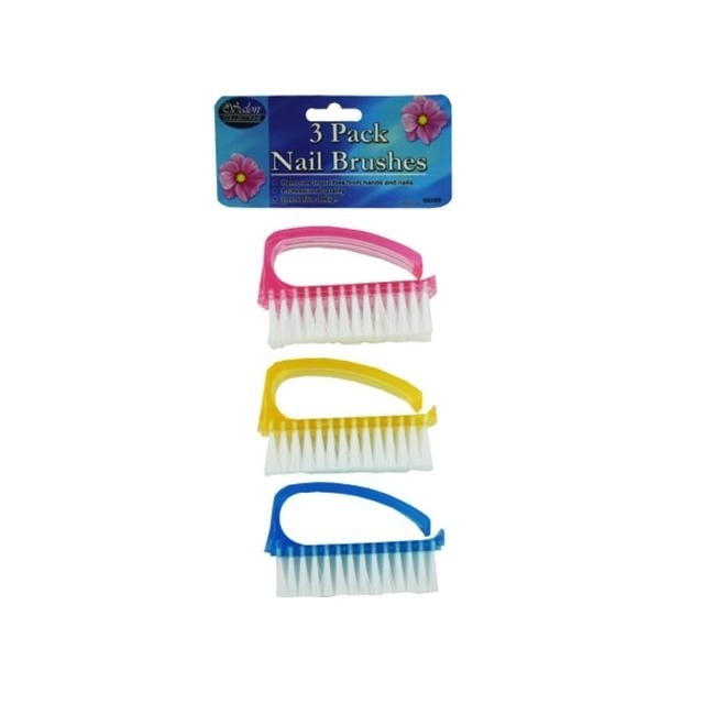 Bulk Buys BE009-48 3 Nail Brush with 3/4 Bristles - Pack of 48 kirkland signature natural fish oil concentrate with omega 3 fatty acids 400 softgels 1000mg pack of 3