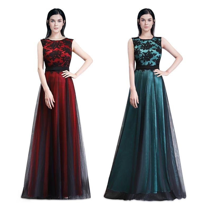 a9e80b0c1be64 LORIE Parti Akşam Elbise Kadın Scoop A-Line Çiçek ile Dekore Tül Mavi Balo  Elbise