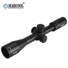 Marcool EVV 4-16X44 SFIR FFP Hunting Riflescope Tactical Optical Sight Rifle Scope With Rangefinder Reticle Telescope For Rifles