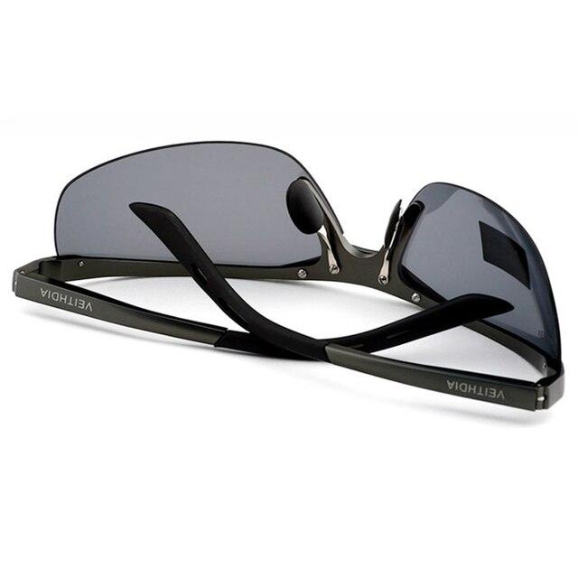 VEITHDIA Aluminum Magnesium 2018 New Men Brand Designer Driving Polarized Sunglasses Glasses Color Film Sun Goggles Eyeglasses 3