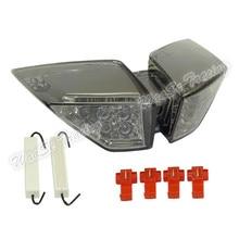 Nuevo precio Waase para mv agusta F4 1000R/1000RR F4R F4RR 2010 2011 2012 2013 2014 rear tail luz de freno señales LED integrado