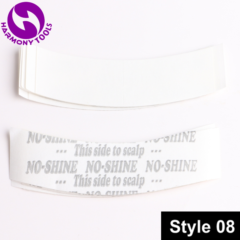HARMONY 180pcs 0.875x3 NO-SHINE A Contour White-Liner Hair Tape Tabs Stickers Tape Pieces for Toupee & Wigs & Tape Hair nowodvorski harmony white iii