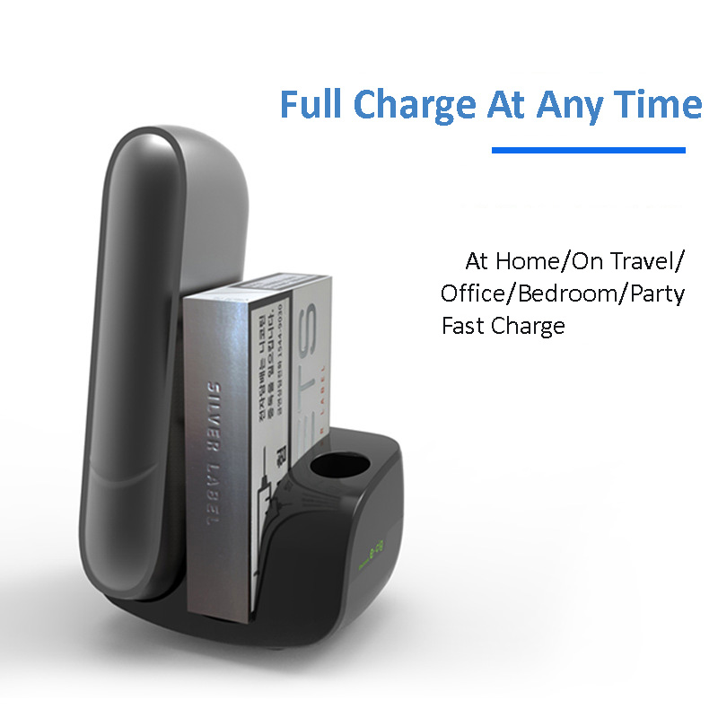 US $15 19 10% OFF Black Color Type C Design Charger For IQOS 3 Charger for  IQOS Multi 3 0 Electronics Cigarette Accessories Car Charger-in CD/DVD