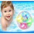 Frete Grátis Mudando A Cor Do Banheiro LED Luz Brinquedos Dos Miúdos À Prova D' Água brinquedo do banho do bebê lâmpadas noite banheira RGB lâmpada led banheira luz