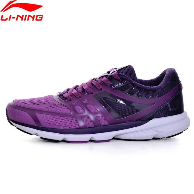 Li-Ning Women Rouge Rabbit 2017 Smart Running Shoes SMART CHIP Sneakers Cushion Light LiNing Sport Shoes ARBM114 XYP598