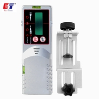KaiTian Detector for Green Level Laser 532nm Rotary Laser Level Outdoor Receiver with Precision Detect Rotary Laser Signal 50M