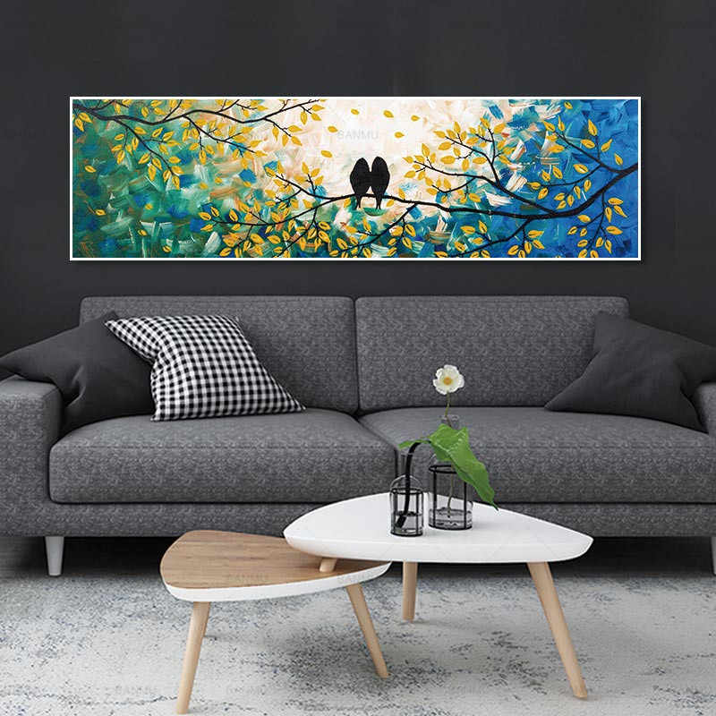 Poster wall pictures for living room Canvas Animal painting art wall decoration print bird Picture unframed Landscape canvas