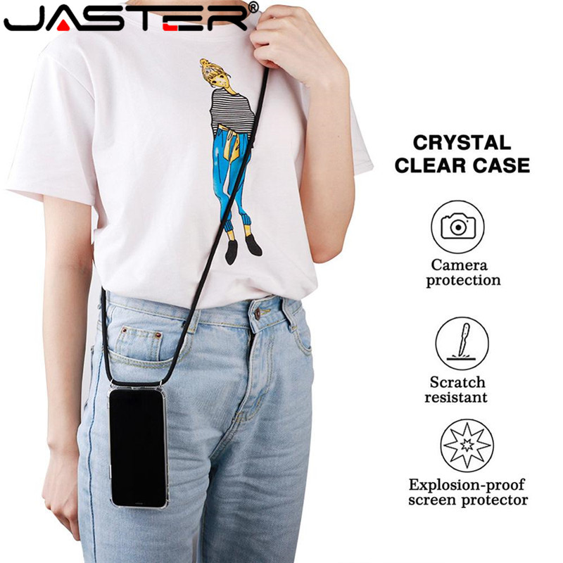 Protective Phone Case Crossbody Necklace Cord Lanyards with Rope fo iPhone 11 6 7 8 Plus XR XS MAX XS 11 pro max accessories