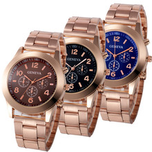 Luxury Women Waterproof font b Watch b font Gold font b Fashion b font font b