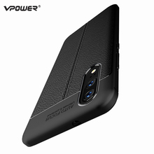 Huawei P20 Lite Case P20 Pro Cover Vpower Lichee Pattern Shock Proof Soft TPU Cases For Huawei P20/P20 Pro/P20 Lite Back Covers