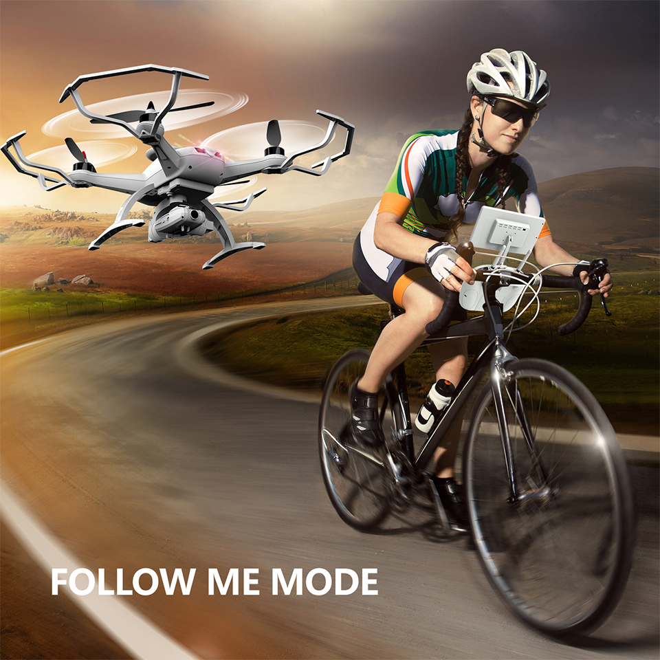 AO SEN MA TOYS CG035 RC Quadcopter 5.8G FPV Camera RC Drone with Gimbal Brushless Motor Altitude Hold RC Helicopter RTF
