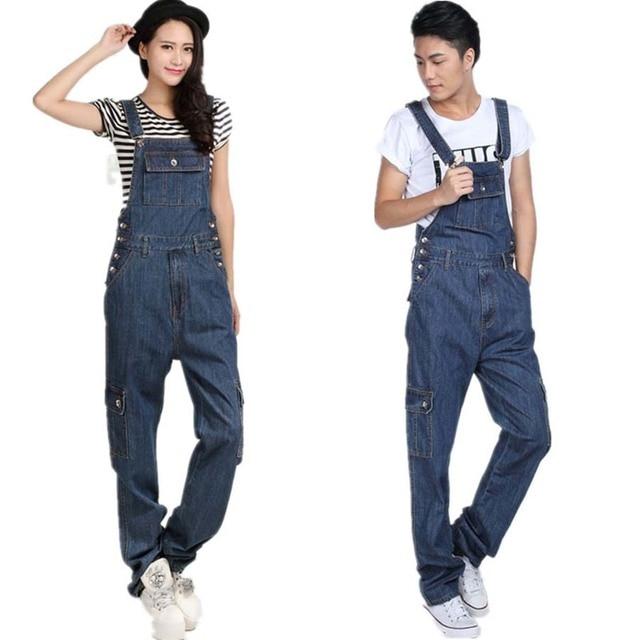 Più il Formato Dei Jeans A Vita Alta per Gli Uomini e Le Donne Del Denim bd4115903709