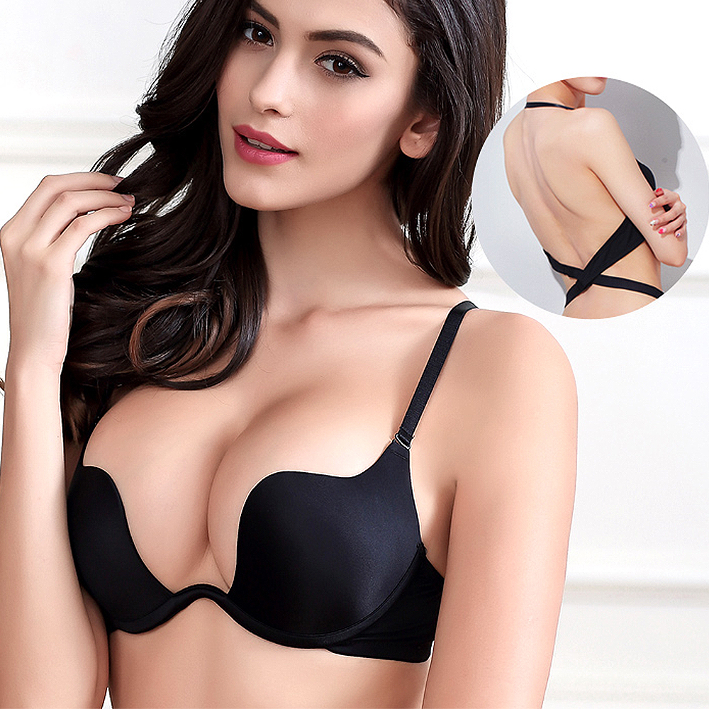 Sexy Cross Straps Gym Sports Top Padded Push Up Yoga Crop Top Stellarious