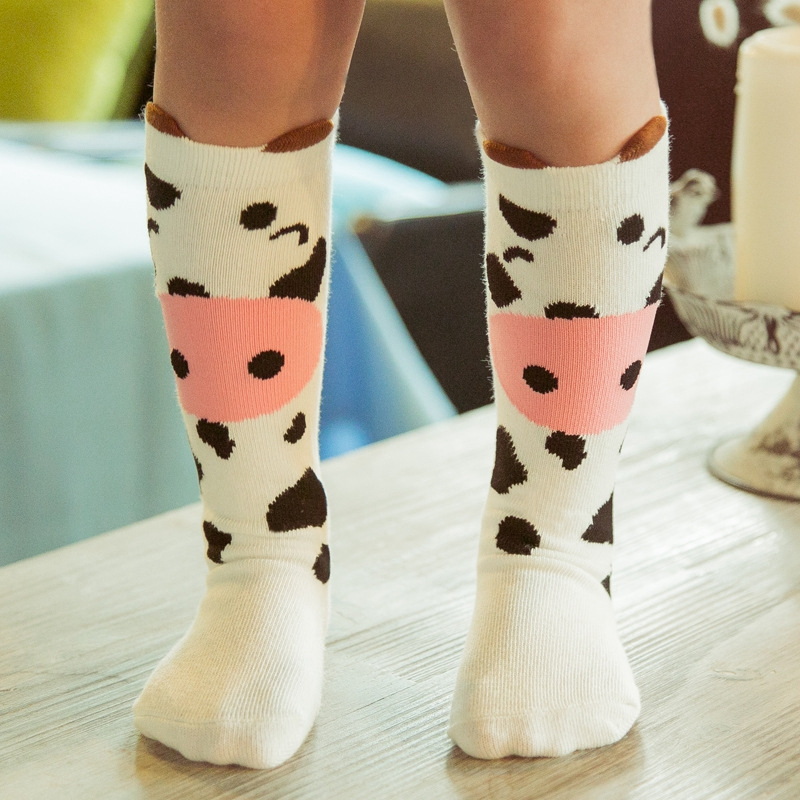 Autumn-and-Winter-Boys-and-Girls-Lovely-Three-dimensional-Cartoon-Creative-Cotton-In-The-Tube-Keep-Warm-Sock-0-6-Years-old-5