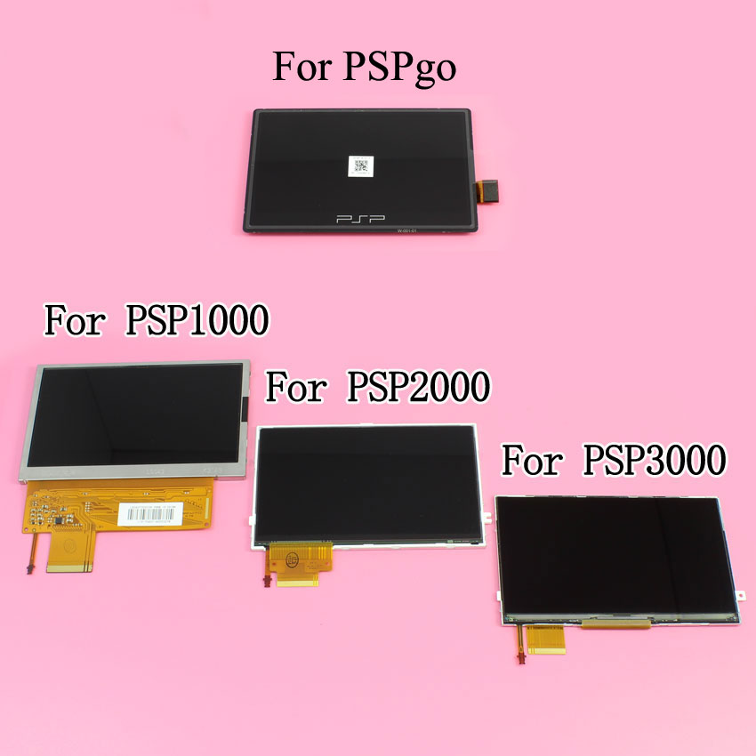 YuXi Brand New LCD Screen Display for Sony PSP1000 2000 3000 PSPgo/ PSP Go Replacement Parts. цена