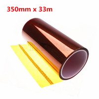 350mm X 33m Polyimide Tape Thermostable Adhesive Film