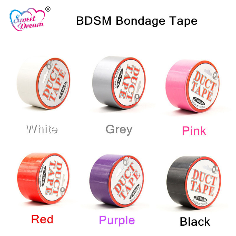 Sweet Dream Sex Products Sticky Tape Sticky Adhesive Fetish Bondage Restraints Role Play Adult Game Sex Toys For Couples DW-433