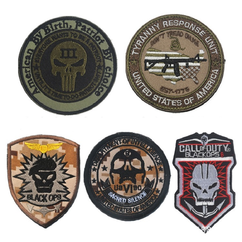 American By Birth Patriot By choice Tyranny Response Unit morale patch Multicam intelligence black ops operations badge patches gorras planas de fortnite
