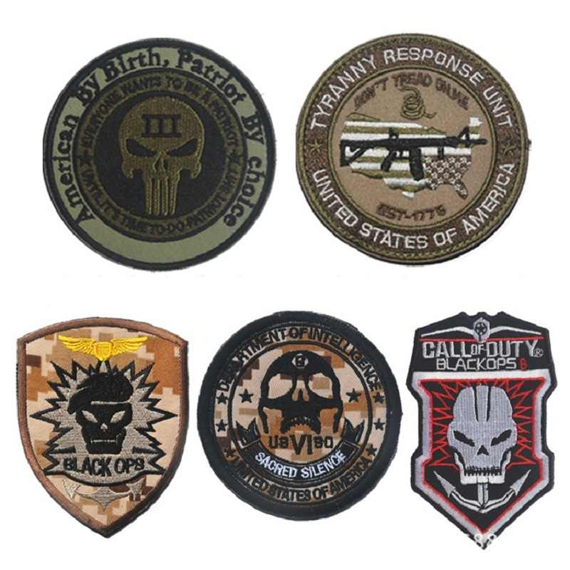 อเมริกันโดย Birth Patriot โดย choice Tyranny Response Unit morale patch Multicam intelligence สีดำ ops operations ป้าย patches