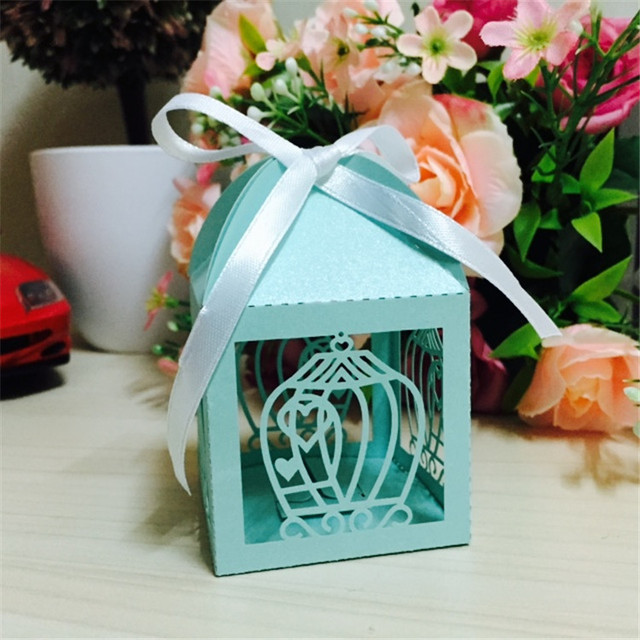 Personalized Laser Cut Wedding Souvenirs Wedding Gifts Bags For