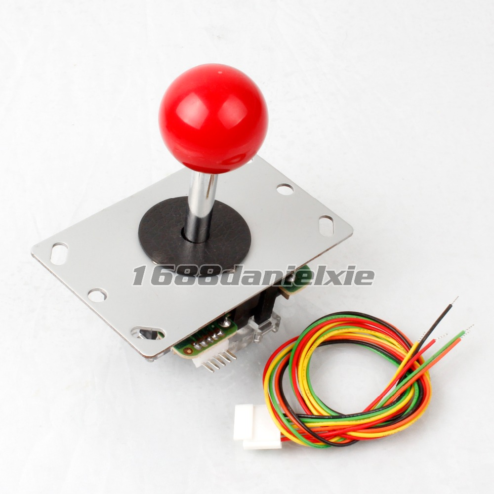 Competition Arcade Joystick 4-8 way With Start Push Buttons To USB joystick MAME